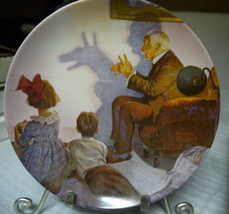 """Norman Rockwell's American Dream Series 87 """" The Shadow Artist """" Collect... - $14.84"""