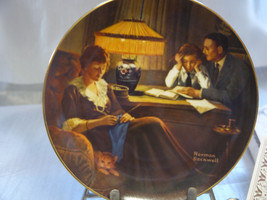 """""""Father's Help"""" 3rd Plate in a series of 6 in this Ltd. Ed. series  w/ C... - $4.95"""