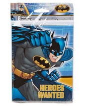 Batman DC Invitations and Thank You Combo Package 8 Ct Birthday Party Supplies - $4.90