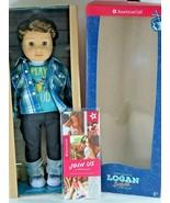"NIB American Girl Doll 18"" Logan Everett of the Contemporary Characters ... - $208.55"