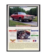 1992 Collect-A-Card Musclecars 1971 BUICK GRAN SPORT STAGE 1 #6 - $0.20