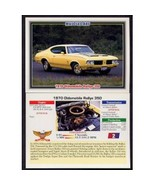 1992 Collect-A-Card Musclecars 1970 OLDSMOBILE RALLYE 350 #2 - $0.20