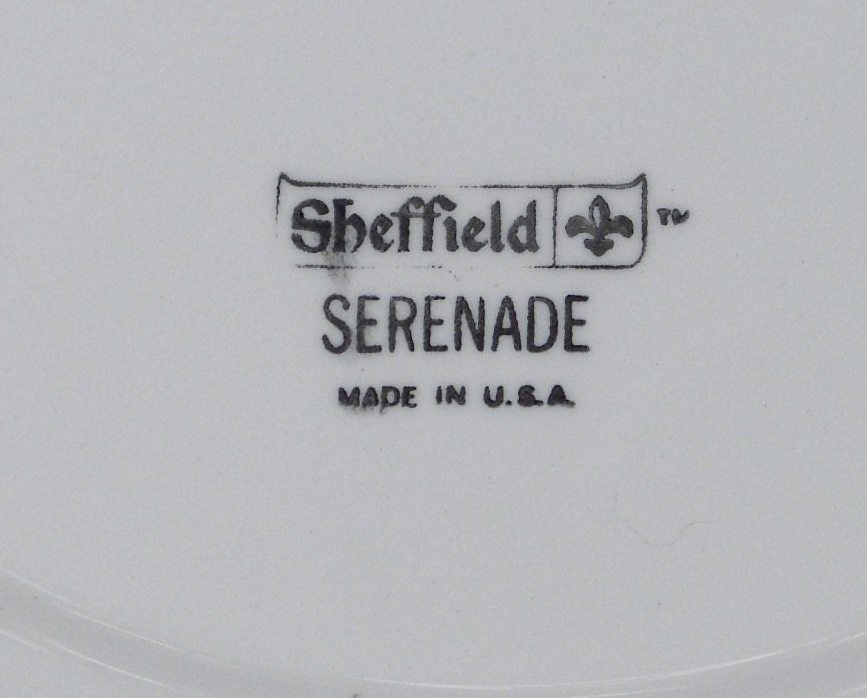Vintage Sheffield Serenade Serving Dish with Handle