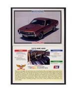 1992 Collect-A-Card Musclecars 1970 AMC AMX #14 - $0.20