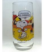McDonalds Promo Schultz Camp Snoopy Collectors Glass  - $12.00