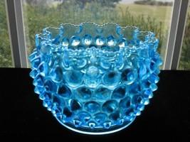 EAPG ANTIQUE BLUE HOBB'S HOBNAIL Finger/Waste Bowl - $20.00