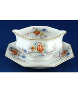 Theodore Haviland Jewel Gravy Boat w Attached Underplate Limoges France ... - $30.00