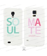 Soul Mate Couple Matching Phone Cases in White for iPhone 4 5 5C Galaxy ... - $19.99