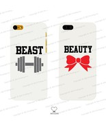 Beauty and Beast Matching Phone Cases for iPhone 4 5 5C Galaxy S3 S4 S5 ... - $17.98+