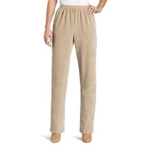 ALFRED DUNNER Women's Beige Taupe Corduroy Pants NWOT 8 - $10.81