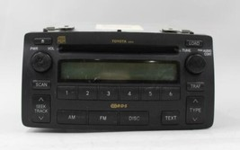 04 05 06 07 08 TOYOTA COROLLA AM/FM RADIO CD PLAYER RECEIVER OEM - $79.19