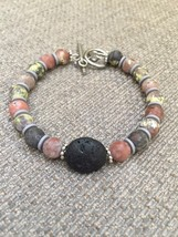 New Pink Agate Stone Aromatherapy/ Essential Oil/ Diffuser Bracelet  - $16.99