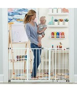 56-Inch Extra WideSpan Walk Through Baby Gate, Includes 4-Inch, 8-Inch a... - $120.77