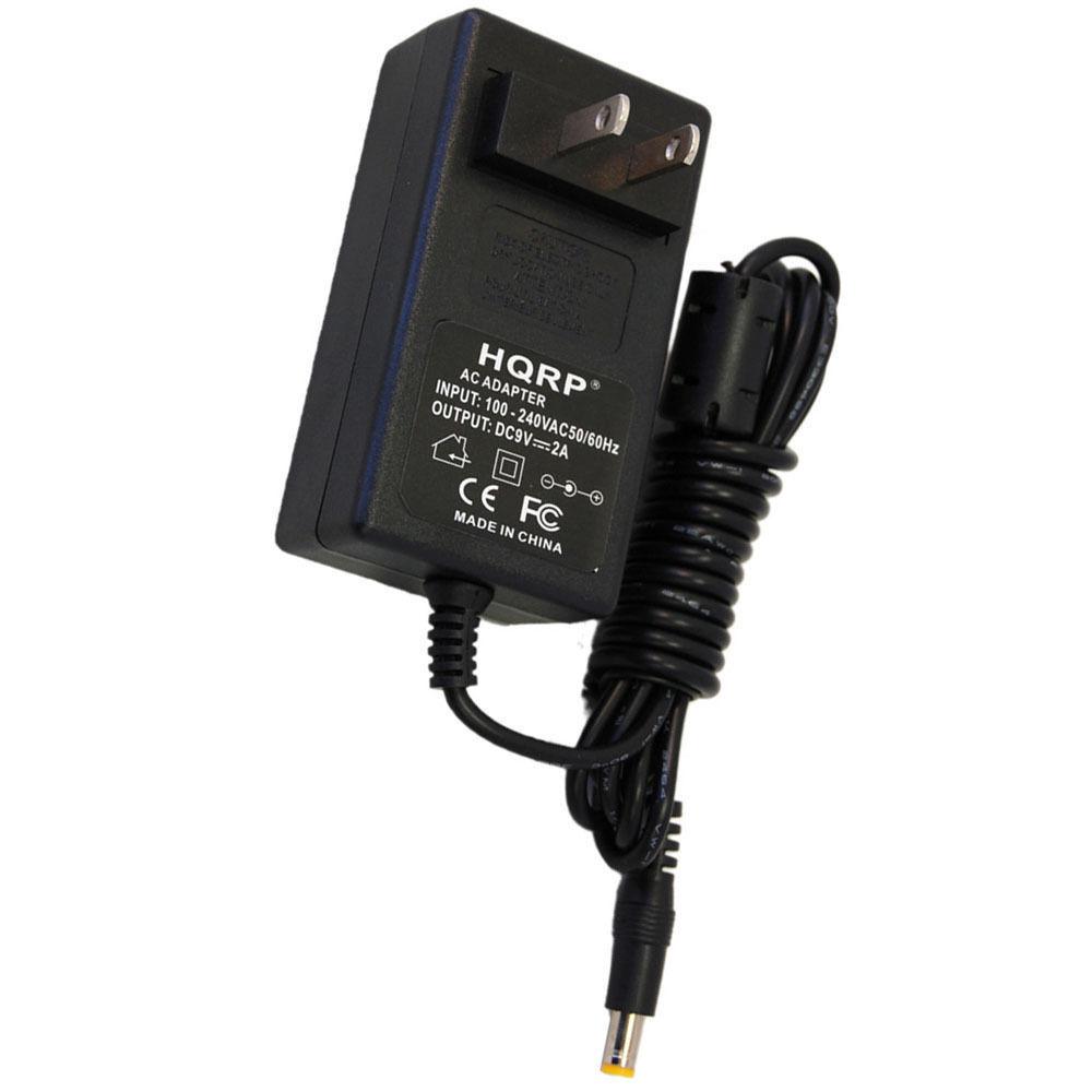HQRP AC Adapter fits Boss ME-50 ME-20 ME-20B Heavy Metal HM-2, Korg microKORG