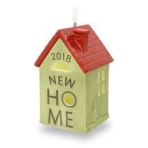 Hallmark Keepsake Christmas Ornament 2018 Year Dated New First Home Home... - $7.92