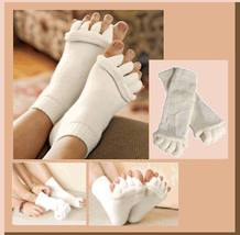 Unisex Massage Toe Socks Therapy For Foot & Toe Comfort  & Relaxation 5 Colors image 3