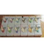 Just the Right COMPLETE  Set of 12 BIRTHDAY Shoes RARE +Bonus & Free US ... - $359.99