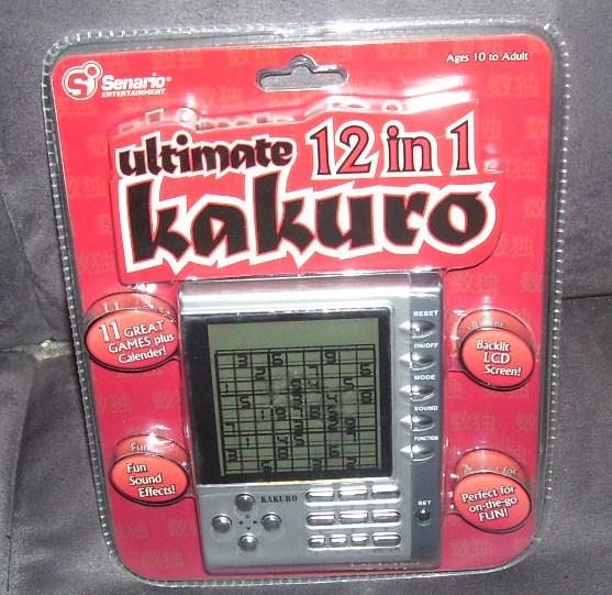 Kakuro ultimate 12 in 1 game