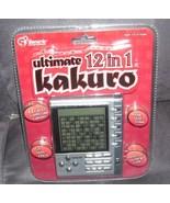 ULTIMATE 12 IN 1 KAKURO Electronic Handheld Game NEW! - $27.96
