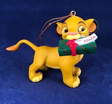 Grolier Disney Simba with Gift President's Edition Ornament The Lion Kin... - $14.84