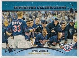 2013 Topps Opening Day Superstar Celebrations Justin Morneau - $0.99