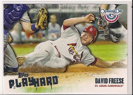 2013 Topps Opening Day Play Hard David Freese - $1.29