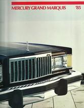 1985 Mercury GRAND MARQUIS sales brochure catalog US 85 LS Colony Park - $8.00