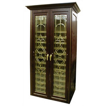 Vinotemp 440 Two Door Bonaparte Oak Wine Cooler Cabinet - $8,696.88
