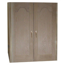 Vinotemp 2 Door Oak Wine Cooler Cabinet with Furniture Trim - $3,621.67
