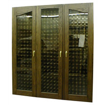Vinotemp 900-3 Door Provincial Oak Wine Cooler Cabinet - $8,689.81
