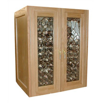 Vinotemp Bonaparte 2 Door Oak Wine Cooler Cabinet - $5,275.80