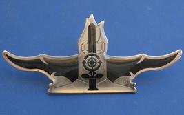 Israel navy big obsolete BADGE IDF pin sword and periscope target - $11.50
