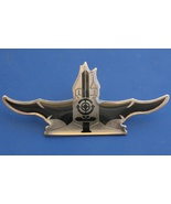 Israel navy big obsolete BADGE IDF pin sword and periscope target - £8.93 GBP