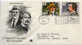 Sept. 12, 1997 First Day of Issue, PC Society Covers, Ives/Gottschalk #44 - $1.48