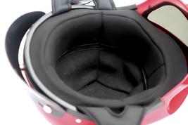 Masei 429 Glossy Red Skull Motorcycle Chopper Helmet image 6