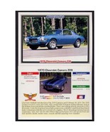 1992 Collect-A-Card Musclecars 1970 CHEVROLET CAMARO Z28 #46 - $0.20