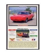 1992 Collect-A-Card Musclecars 1969 DODGE DAYTONA #61 - $0.20