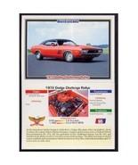 1992 Collect-A-Card Musclecars 1972 DODGE CHALLENGER RALLYE #65 - $0.20