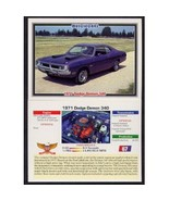 1992 Collect-A-Card Musclecars 1971 DODGE DEMON 340 #67 - $0.20