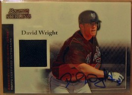 2004 Bowman Sterling #DW David Wright AU Jsy - $37.28