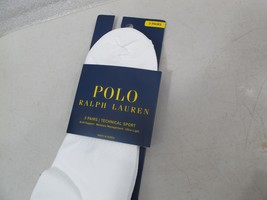 Polo Ralph Lauren Men's TECHNICAL SPORT SOCKS ULTRA LITE MOISTURE MANAGE... - $14.31