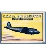 1952 Topps Wings C.A.S.A. 201 ALCOTAN #184 VG - $9.99