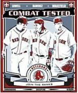 Boston Red Sox Poster 2 Combat Tested 2008 Dunkin Donuts   - $8.95