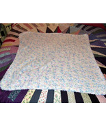 Handknit Baby coverlet or Lap Robe in soft chen... - $14.95