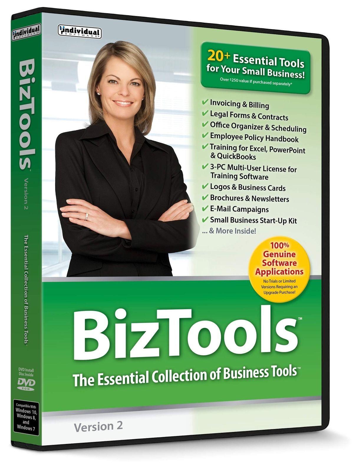 Individual Software BIZTOOLS 2 PC NEW!