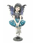 Nemesis Now Petit Ombres Noire Figurine Gothique Statue Fairy Ornement B... - $45.78