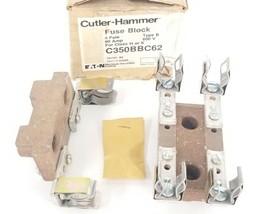 NIB EATON CUTLER-HAMMER C350BBC62 FUSE BLOCK 3-POLE TYPE: B, SER. A2