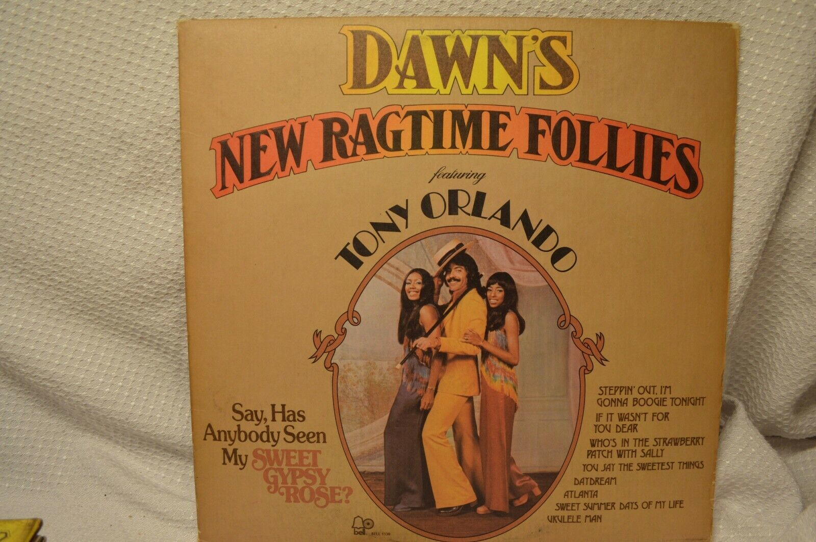 1973 LP 33 RECORD Dawn's New Ragtime Follies featuring Tony Orlando Jazz Rock