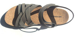 Merrell Around Town Arin Backstrap Leather Sandals - Color Brindle - Size 8 - $39.60