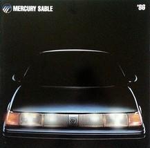 1986 Mercury SABLE sales brochure catalog US 86 GS LS - $8.00